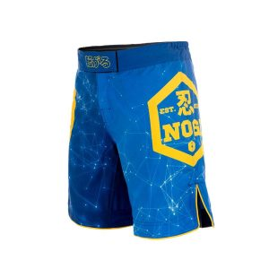 Blue NoGi Shorts BJJ