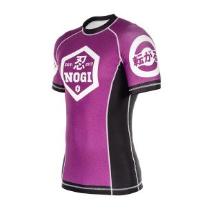 BJJ Purple Rashguard