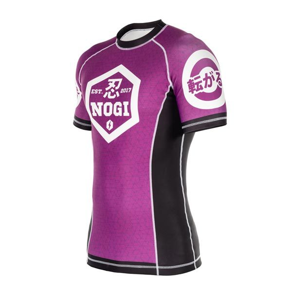Purple Rash Guard – Side
