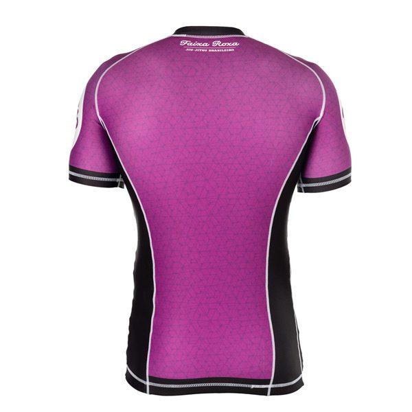 Purple Rash Guard – Back