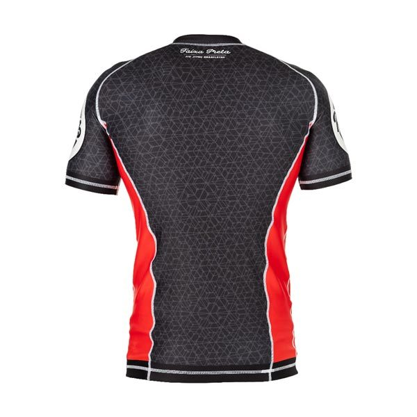 Black Rash Guard – Back