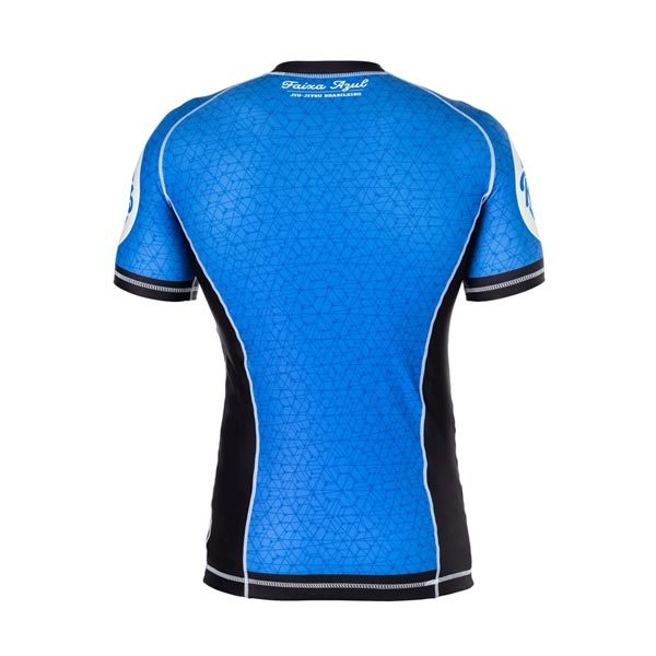 Blue Rash Guard – Back