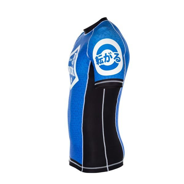 Blue Rash Guard – Left Side