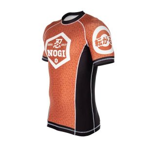 Jiu-Jitsu NOGI Brown Rash Guard