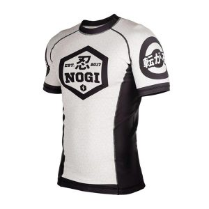 BJJ Rash Guard White color