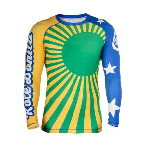 BJJ Rash Guard Rising Sun