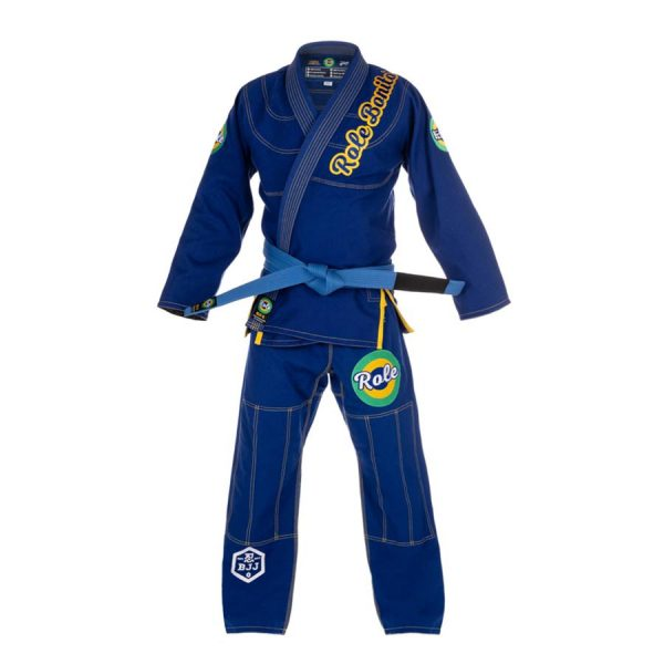 Blue Gi – Front