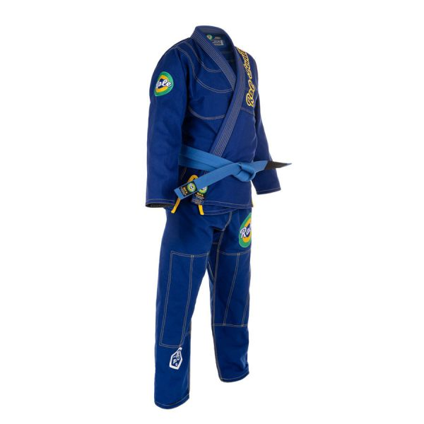 Blue Gi – Right Side