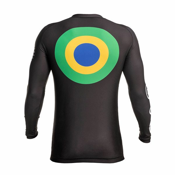 Long Sleeve Rash Guard – Back