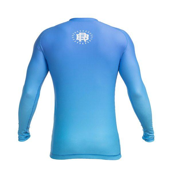 Long Sleeve Blue Rash Guard – Back