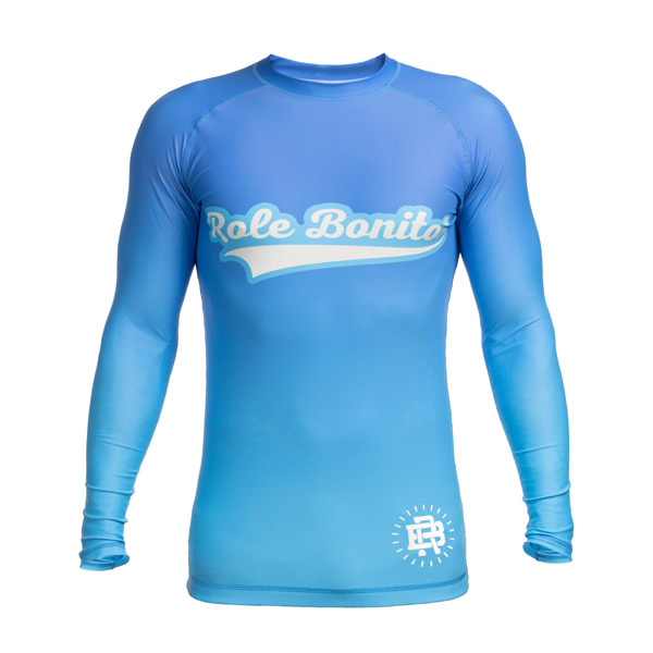 BJJ NOGI Rash Guard Azul