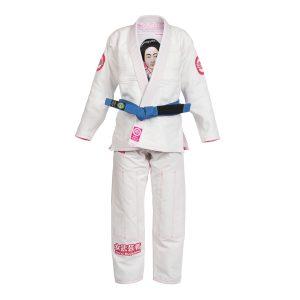 Samurai Woman BJJ Gi Kimono Jiu-jitsu