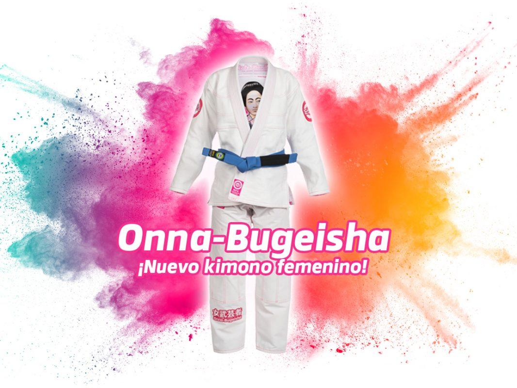 Kimono de Mujeres y chicas BJJ Onna-Bugeisha Jiu-jitsu Brasileño