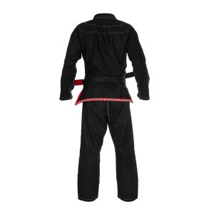 Ultra Light BJJ Gi Black - Back