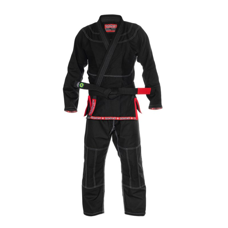 Ultra Light BJJ Gi Black - Front