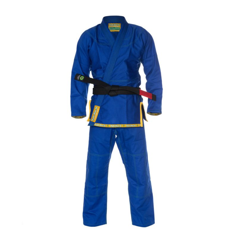 Ultra Light BJJ Gi Blue - Front