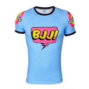 Nogi BJJ Wow Popart Rash Guard Design Shirt